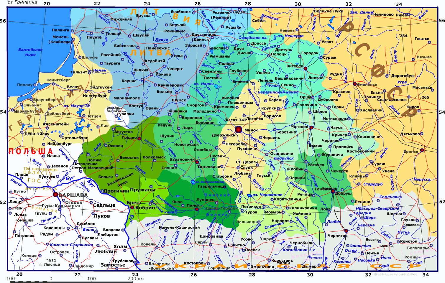 Как выглядела карта украины в 1919 году